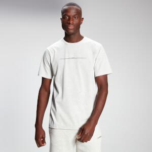 MP Men's Mini Mark Graphic Short Sleeve T-Shirt - Light Grey Marl