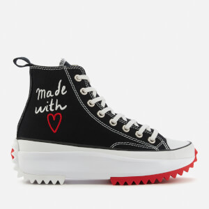 Converse Women's Love Thread Run Star Hike Trainers - Black/White/University Red