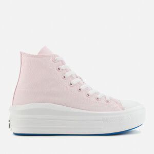 Converse Women's Chuck Taylor All Star Anodized Metals Move Hi-Top Trainers - Pink
