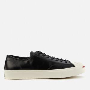 Converse Men's Jack Purcell Premium Leather Trainers - Black