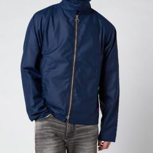 Barbour Beacon Men's Munro Wax Jacket - Regal Blue