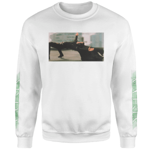 The Matrix Sweatshirt - Blanc