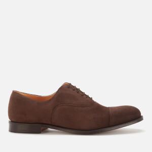 Church's Men's Dubai Suede Toe Cap Oxford Shoes - Brown