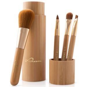 Luvia Travel Bamboo Brush Set