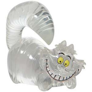 Disney Clear Cheshire Cat Figurine