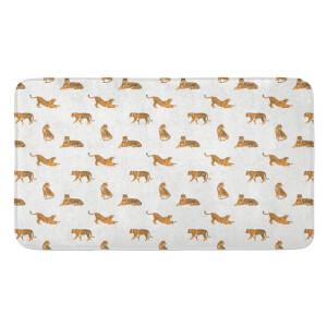 Earth Friendly Cheetahs Large Bath Mat