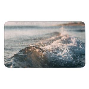 Earth Friendly Crashing Wave Large Bath Mat