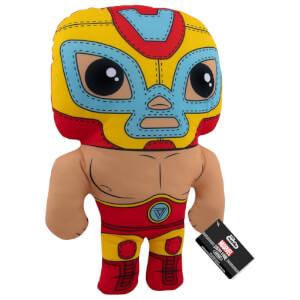 """Marvel Lucha Libre Iron Man 17.5"""" Funko Plush"""
