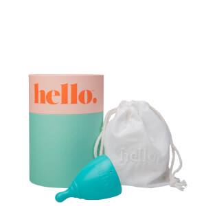 The Hello Cup Menstrual Cup S-M - Blue