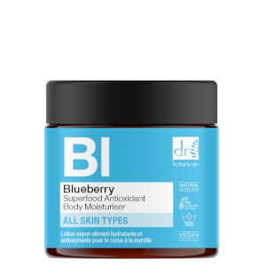 Dr Botanicals Blueberry Superfood Antioxidant Body Moisturiser 60ml