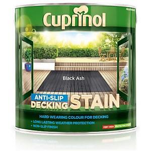 Cuprinol Anti-Slip Decking Stain - Black Ash - 2.5L