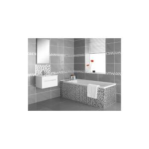 Homelux Mosaic Glass - Black Leaf - 1 Pack