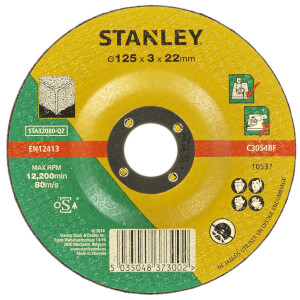Stanley 125mm Stone Cutting Disc - STA32080-QZ