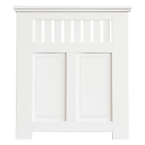 Wilton Radiator Cabinet White FSC - Small