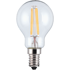 LED Filament Mini Globe SES 4.5W Light Bulb