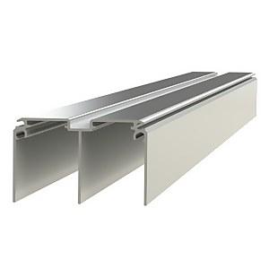Duo Aluminium Sliding Door Track Set (W)3660mm