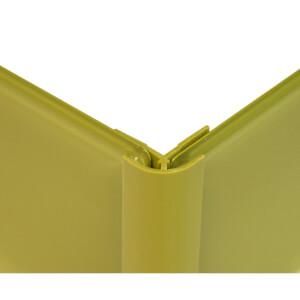 Zenolite Colour Matched PVC External Corner - 250cm - Forest
