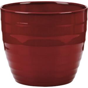 Plant Pot - Dark Red - 28cm
