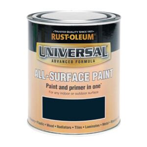 Rust-Oleum Universal All Surface Gloss Paint & Primer - Navy Blue - 250ml