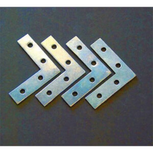 Corner Plate - 50mm - 4 Piece