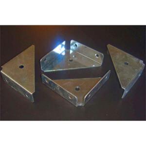 Corner Plate Flange - 4 Piece