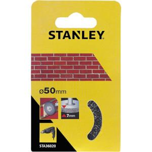 Stanley 50mm Wire Wheel Brush - STA36020-XJ