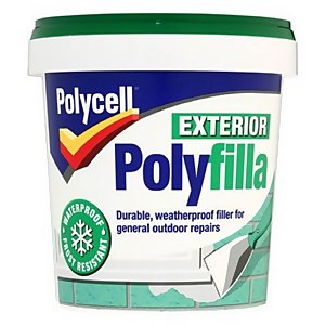 Polycell Multipurpose Exterior Polyfilla - 1kg