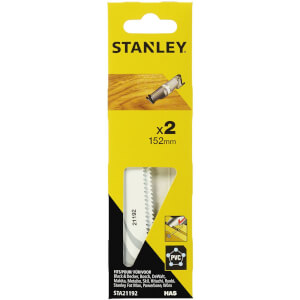 Stanley Recip Saw Blades Wood/Nail 152mm - STA21192-XJ