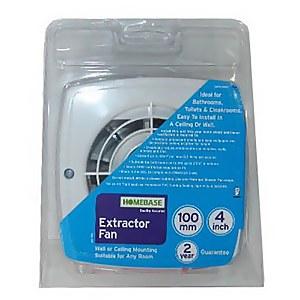 Standard Extractor Fan 100m White
