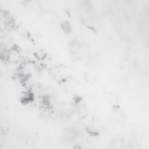 Minerva Carrara White Kitchen Worktop - 150 x 60 x 2.5cm