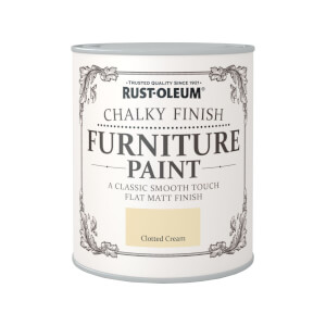 Rust-Oleum Chalky Furniture Paint - Clotted Cream - 750ml