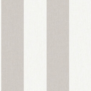 Superfresco Easy Paste the Wall Calico Stripe Natural Wallpaper