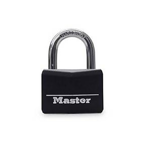 Master Lock Vinyl Covered Padlock - 20mm - 4 Pack