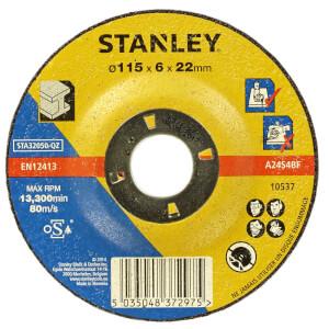 Stanley 115mm Metal Grinding Disc - STA32050-QZ
