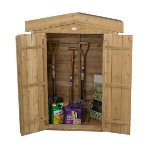 Forest (Installation Included) Wooden Apex Garden Store