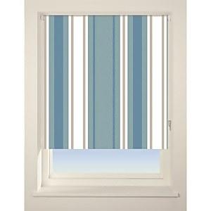 Stripe Roller Blind - 90cm - Blue