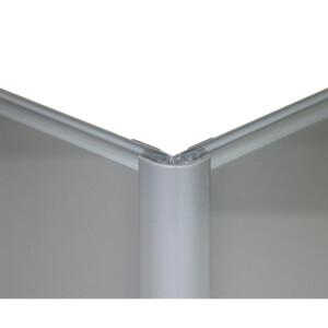 Zenolite Colour Matched PVC External Corner - Splashback Profile - 125cm - Grey