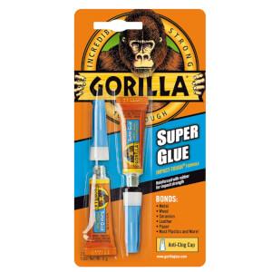 Gorilla Super Glue 2x3g