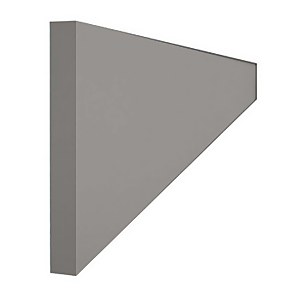 2400mm Continuous Plinth for High Gloss Slab Grey or Handleless Grey Gloss