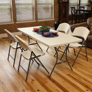 Lifetime Seasonal Folding Party Trestle Table - 1.83m / 6ft