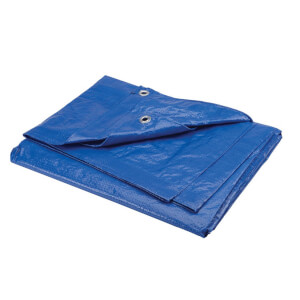 Polytuf Medium Duty Tarpaulin - 1.8 x 2.4m