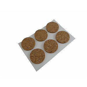 Protective Pad Cork 19mm - 12 Pack
