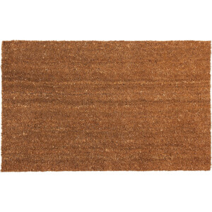 Plain PVC Coir Doormat - Large