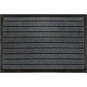 Small Barrier Doormat - Grey