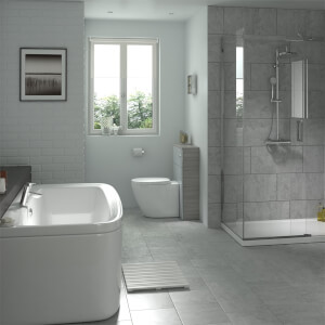 Classico Grey Wall and Floor Tile 6 pack