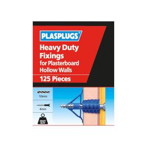 Plasplugs HD Plasterboard Fixings x 125