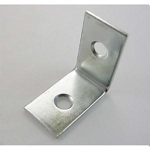 Corner Brace Zinc 25mm - 2 Pack