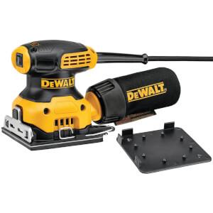 DEWALT Finishing 1/4 Sheet 230W Corded Orbital Sander (DWE6411-GB)