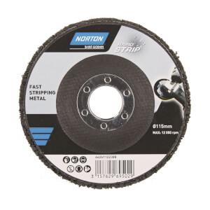 Norton Rapid Strip Rust Abrasive Disc - 115mm