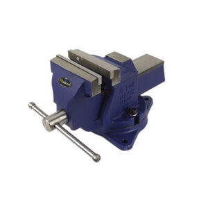 Irwin Record Workshop Vice with Swivel - 100mm 4in